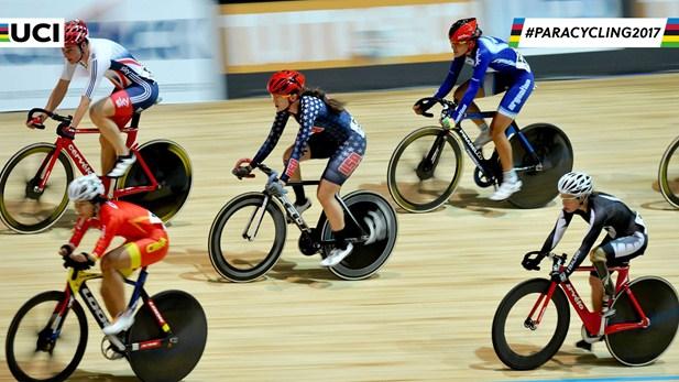 F Para Cyclist